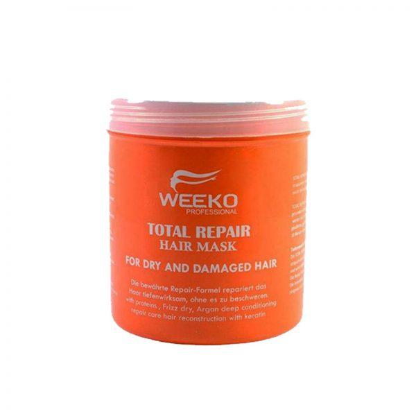 ماسک مو و نرم کننده تقویتی ویکو 1000میل (مخصوص موهای آسیب دیده و زبر)