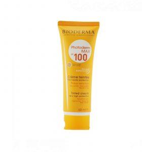 کرم ضد آفتاب فتودرم مکس SPF 100 (بی رنگ) بایودرما