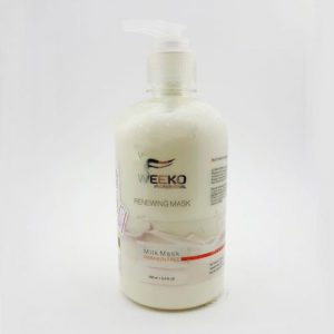 ماسک مو و نرم کننده تقویتی مو ویکو مخصوص موهای دمیج و خشک حاوی شیر