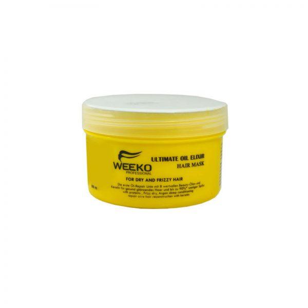 ماسک مو و نرم کننده تقویتی ویکو 500میل (مخصوص موهای نازک و مجعد)