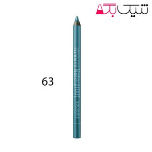 مداد چشم گلابینگ ضد آب بورژوا شماره 63