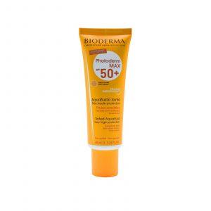 ضد آفتاب فتودرم مکس آکوا فلوئید spf50 فاقد رنگ بایودرما