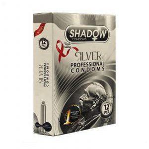 کاندوم شادو مدل نقره ای (silver) سه عددی