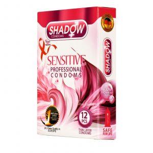 کاندوم شادو مدل حساس (Sensitive) سه عددی