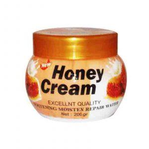کرم دست و صورت شیر و عسل کاسه ای بوسوم