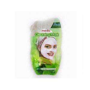 ماسک صورت مدیا مدل پیل آف نعناع و شکلات سفید