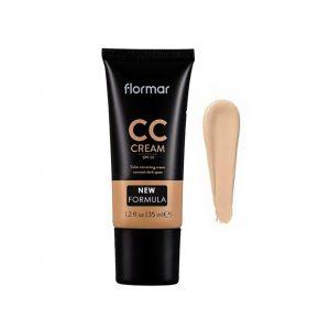 کرم CC فلورمار SPF20 مناسب پوشاندن تیرگی های پوست(۰۳)