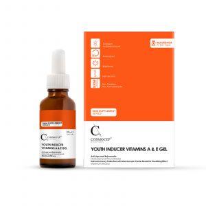 ژل مرطوب کننده حاوی ویتامین E و A کازموسپ