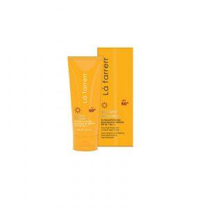 ضد آفتاب و ضد لک بی رنگ مخصوص پوست خشک لافارر