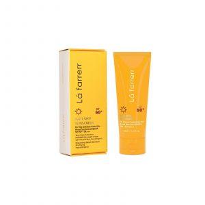 ضد آفتاب و ضدلک بی رنگ مخصوص پوست چرب و مختلط لافارر