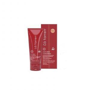 ضد آفتاب رنگی لافارر مخصوص پوست خشک