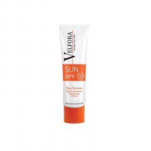 کرم ضد آفتاب رنگی مناسب پوست های چرب و مستعد آکنه ولفورا