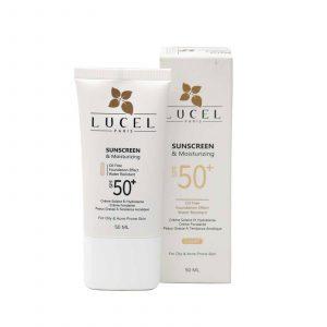 کرم ضد آفتاب رنگی لوسل مناسب پوست چرب و مختلط