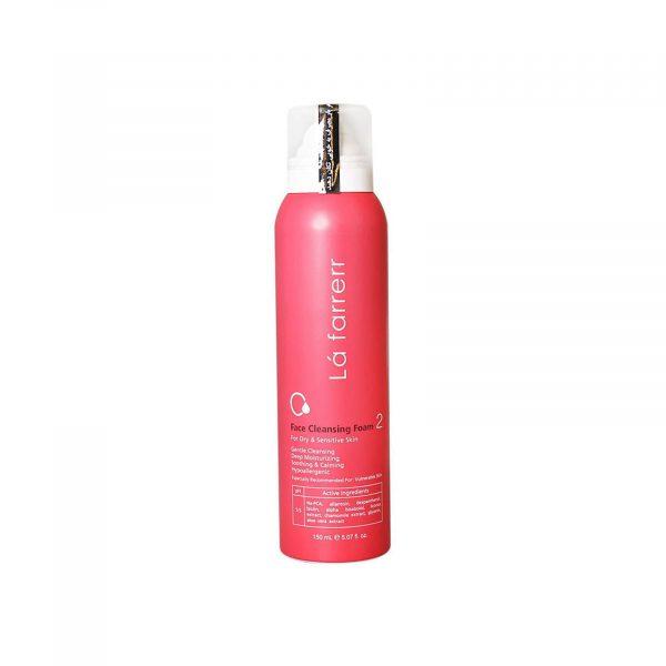 فوم شوینده مناسب پوست خشک و حساس لافارر