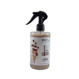 لوسیون مو بستنی شکلاتی مناسب موهای رنگ شده بیول(بدون آبکشی)