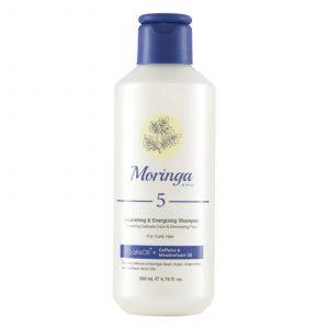 شامپو مغذی مورینگا امو مناسب انواع موهای فر 200میل کد 5