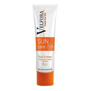 ضد آفتاب بیرنگ ولفورا مناسب پوست چرب و مستعدآکنه