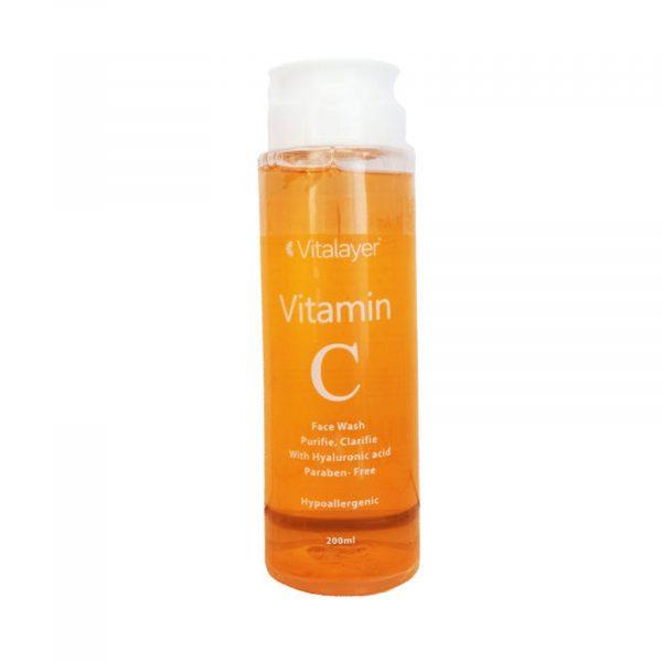 ژل شستشو ویتامین C ویتالایر
