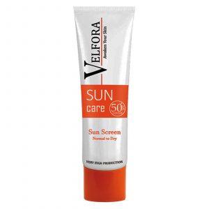 ضد آفتاب بیرنگ ولفورا مناسب پوست خشک تا نرمال